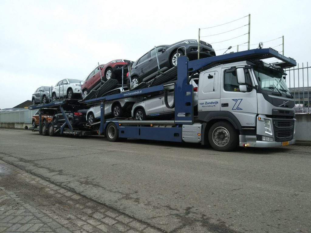 Autotransport personenauto's
